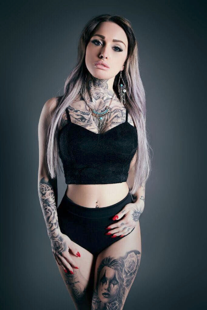 Ink Mania Sullen Model Search