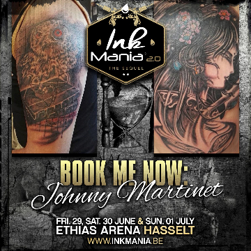Ink Mania 2018 - Johnny martinet