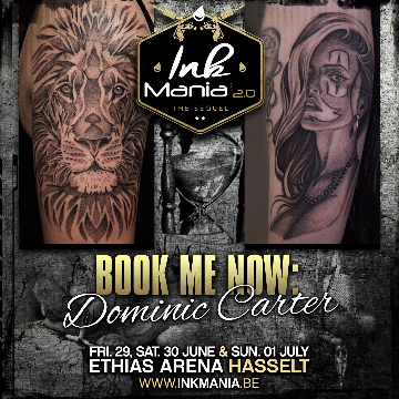 Ink Mania 2018 - Dominic Carter