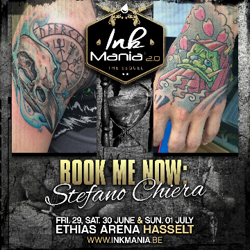 Ink Mania 2018 - Stefano Chiera