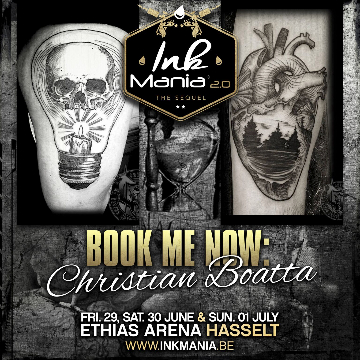 Ink Mania 2018 - christian boatta