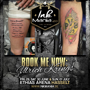 Ink Mania 2018 - Ulrich Krings