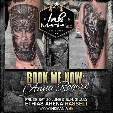 Ink Mania 2018 - Anna Rogers