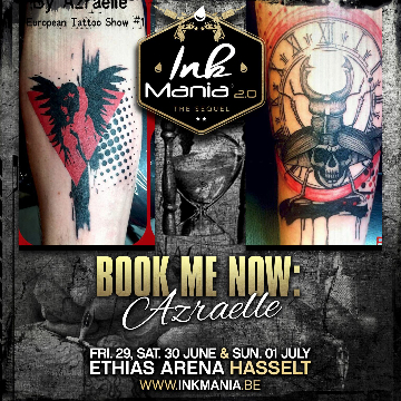 Ink Mania 2018 - Grollier Flore Azraelle