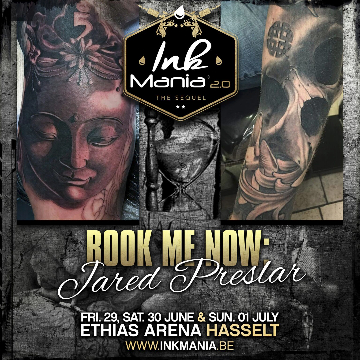Ink Mania 2018 - Jared Preslar