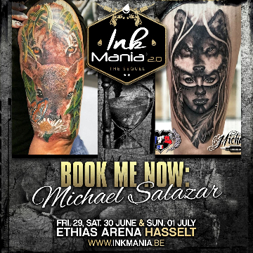 Ink Mania 2018 - Michael Salazar