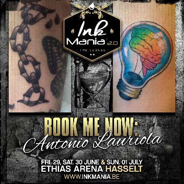 Ink Mania 2018 - Antonio Lauriola