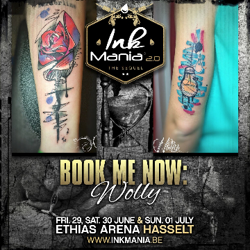Ink Mania 2018 - Wolly
