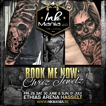 Ink Mania 2018 - Chriz Jewels