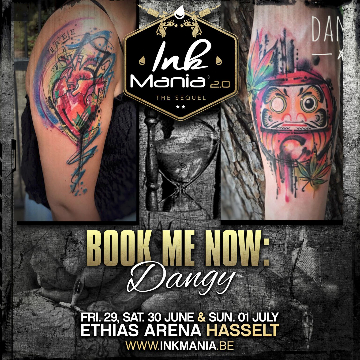 Ink Mania 2018 - Dangy