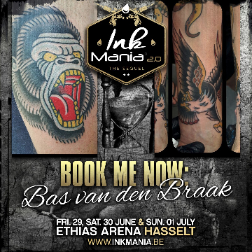 Ink Mania 2018 - van den Braak Bas