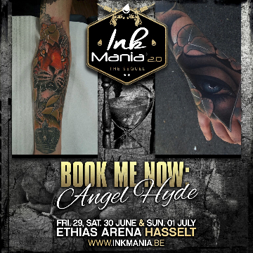 Ink Mania - ANGEL HYDE