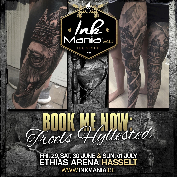 Ink Mania 2018 - Troels Hyllested