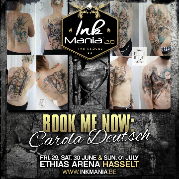 Ink Mania 2018 - Carola Deutsch