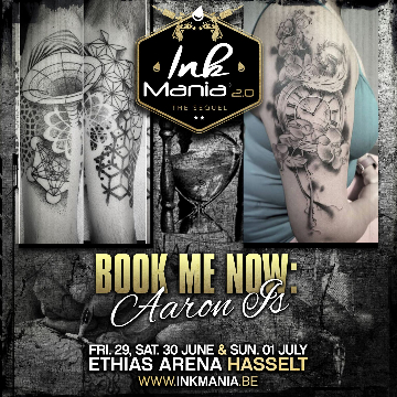 Ink Mania 2018 - Aaron IS