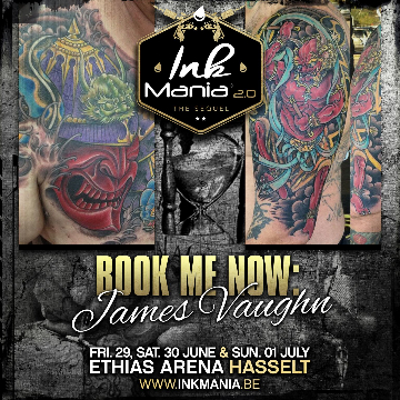 Ink Mania 2018 - James Vaugh