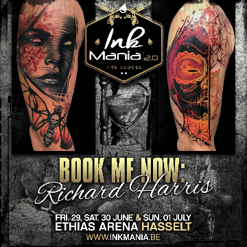 Ink Mania 2018 - Richard Harris