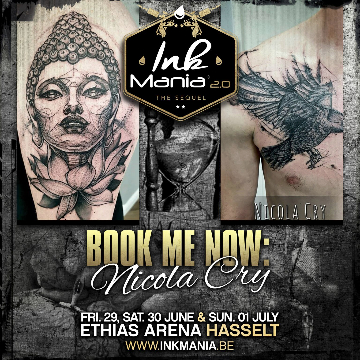 Ink Mania 2018 - Nicola Cry