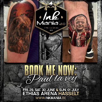 Ink Mania 2018 - Paul La Vey