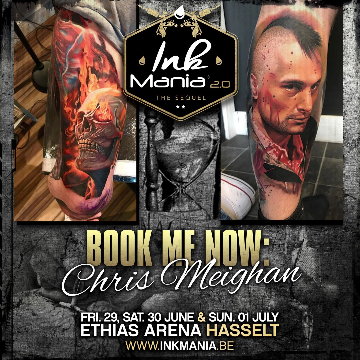 Ink Mania 2018 - Chris Meighan