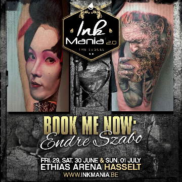 Ink Mania 2018 - Endre Szabo