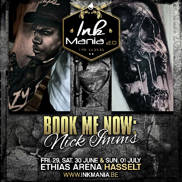 Ink Mania 2018 - Nick Imms