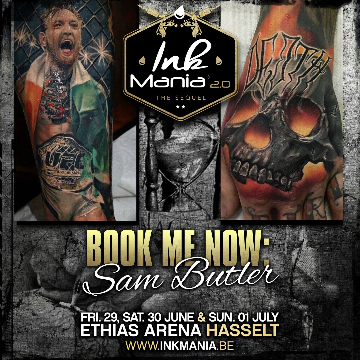 Ink Mania 2018 - Sam Butler