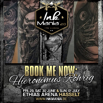 Ink Mania 2018 - Hieronimus Rohrig