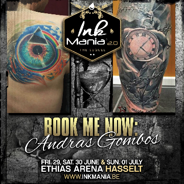Ink Mania 2018 - Andras Gombos