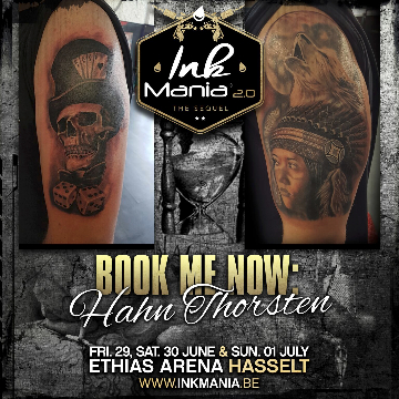 Ink Mania 2018 - Hahn Thorsten