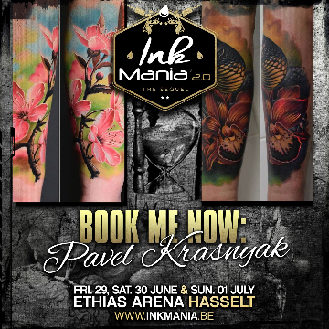 Ink Mania 2018 - Pavel Krasnyak