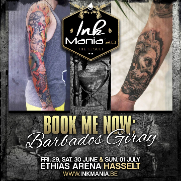 Ink Mania 2018 - Barbaros Giray
