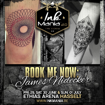 Ink Mania 2018 - James Nidecker