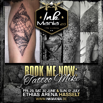 Ink Mania 2018 - Tattoo Mike