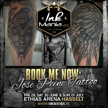 Ink Mania 2018 - Jose Peine Tattoo