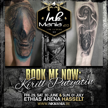 Ink Mania 2018 - Kirill