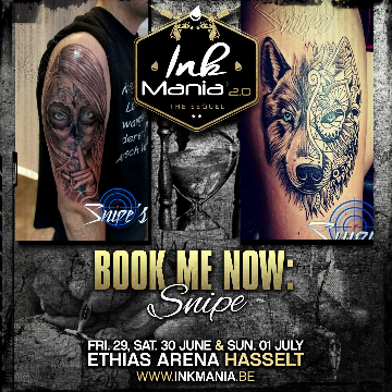 Ink Mania 2018 - Snipe