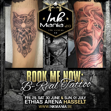 Ink Mania - B Real Tattoo
