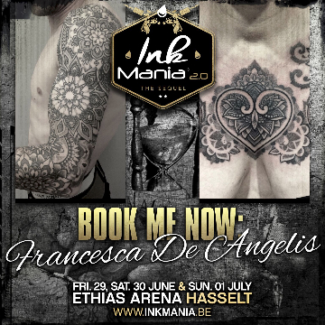 Ink Mania 2018 - Francesca De Angelis