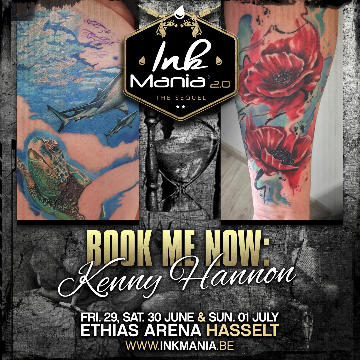 Ink Mania 2018 - Hannon Kenny