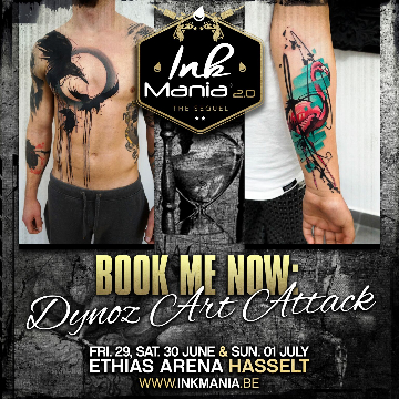 Ink Mania - Dynoz Art Attack