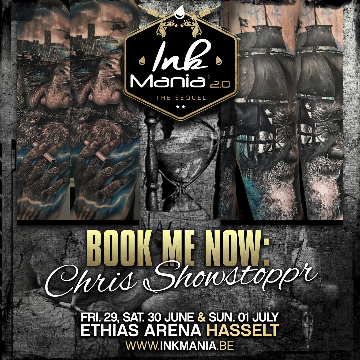 Ink Mania 2018 - Chris Showstoppr