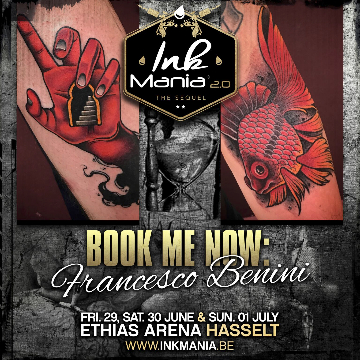 Ink Mania 2018 - Francesco Benini