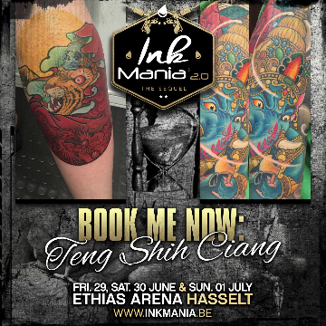 7dcbc881bdd66 Ink Mania • Tattoo & Lifestyle festival • Book your Artist