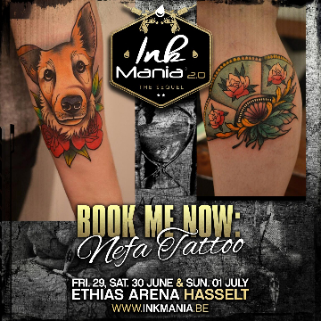 Ink Mania 2018 - Nefa Tattoo