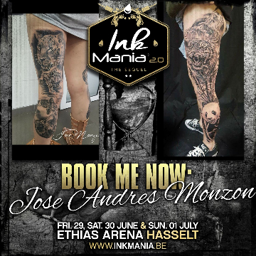Ink Mania - Jose Andres Monzon