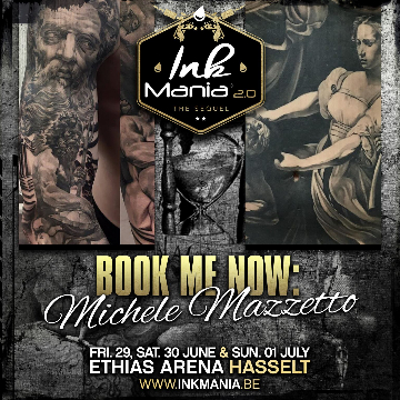Ink Mania 2018 - Michele Mazzetto