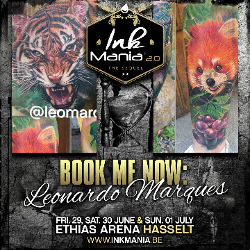 Ink Mania 2018 - Leonardo Marques