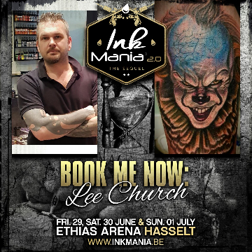 Ink Mania 2018 - Lee Church