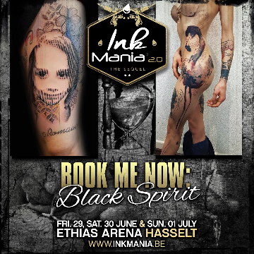 Ink Mania 2018 - Black Spirit
